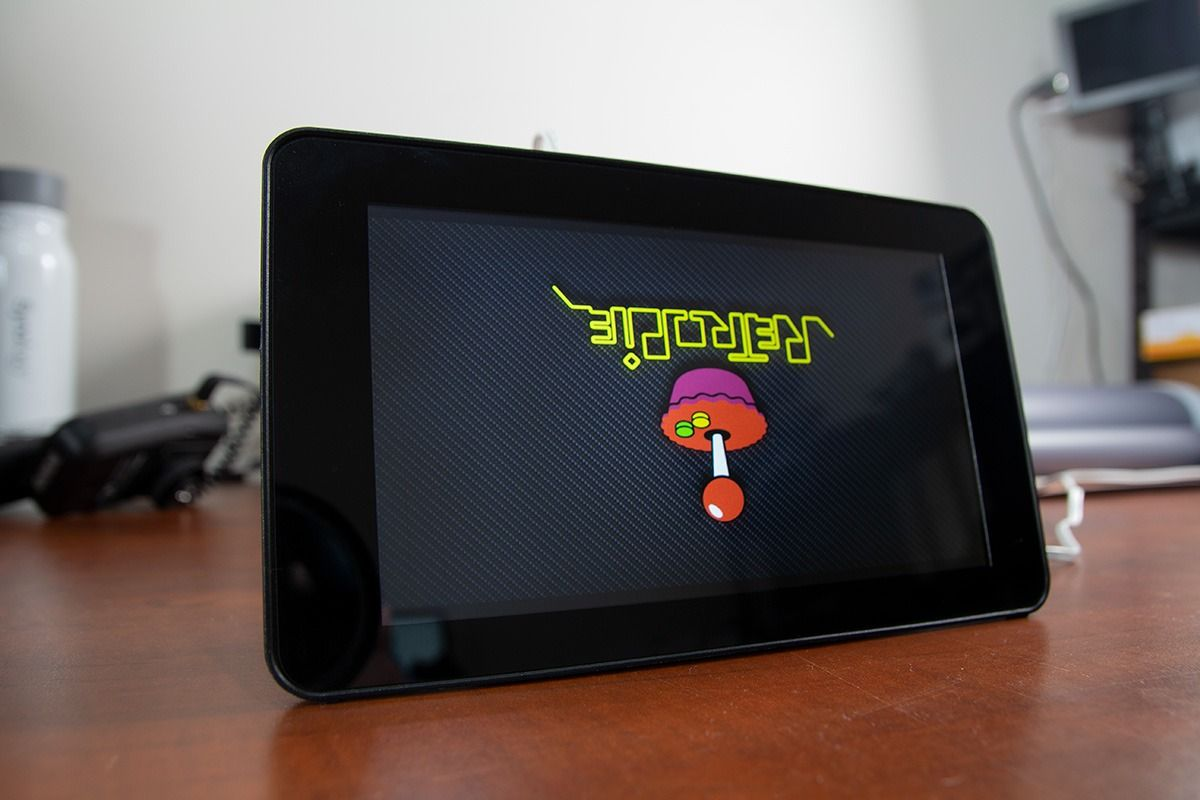 Rotate a Raspberry Pi Touch Screen – It's Upside Down!