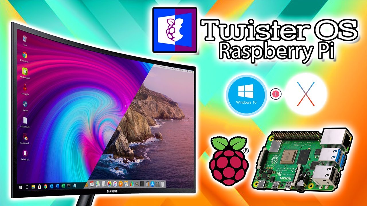 Twister OS Raspberry Pi 4 – Get That OSX and Windows 10 Look!