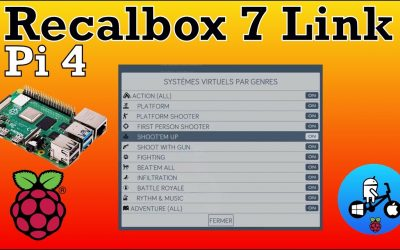Recalbox 7 Raspberry Pi 4 Available Now. Download link.