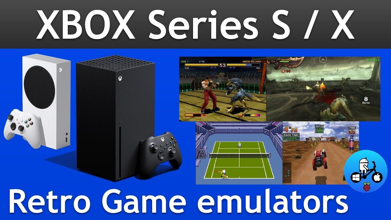 Emulation on The Xbox Series S and Series X.
