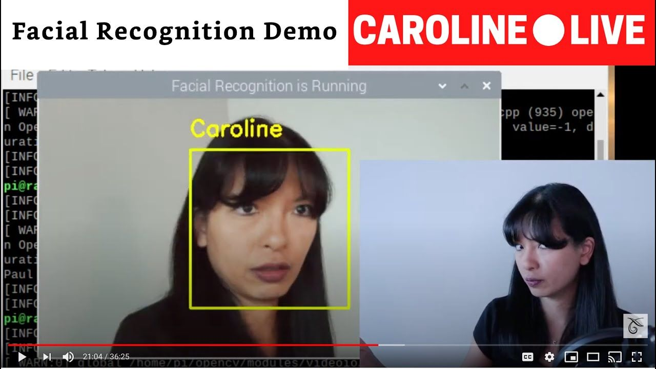 Facial Recognition on Raspberry Pi | Amazon Prime Day | CarolineLIVE Ep 29
