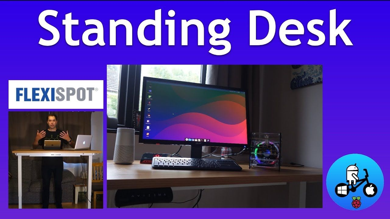Flexispot. Awesome Electric Standing Desk. Assembly and test.