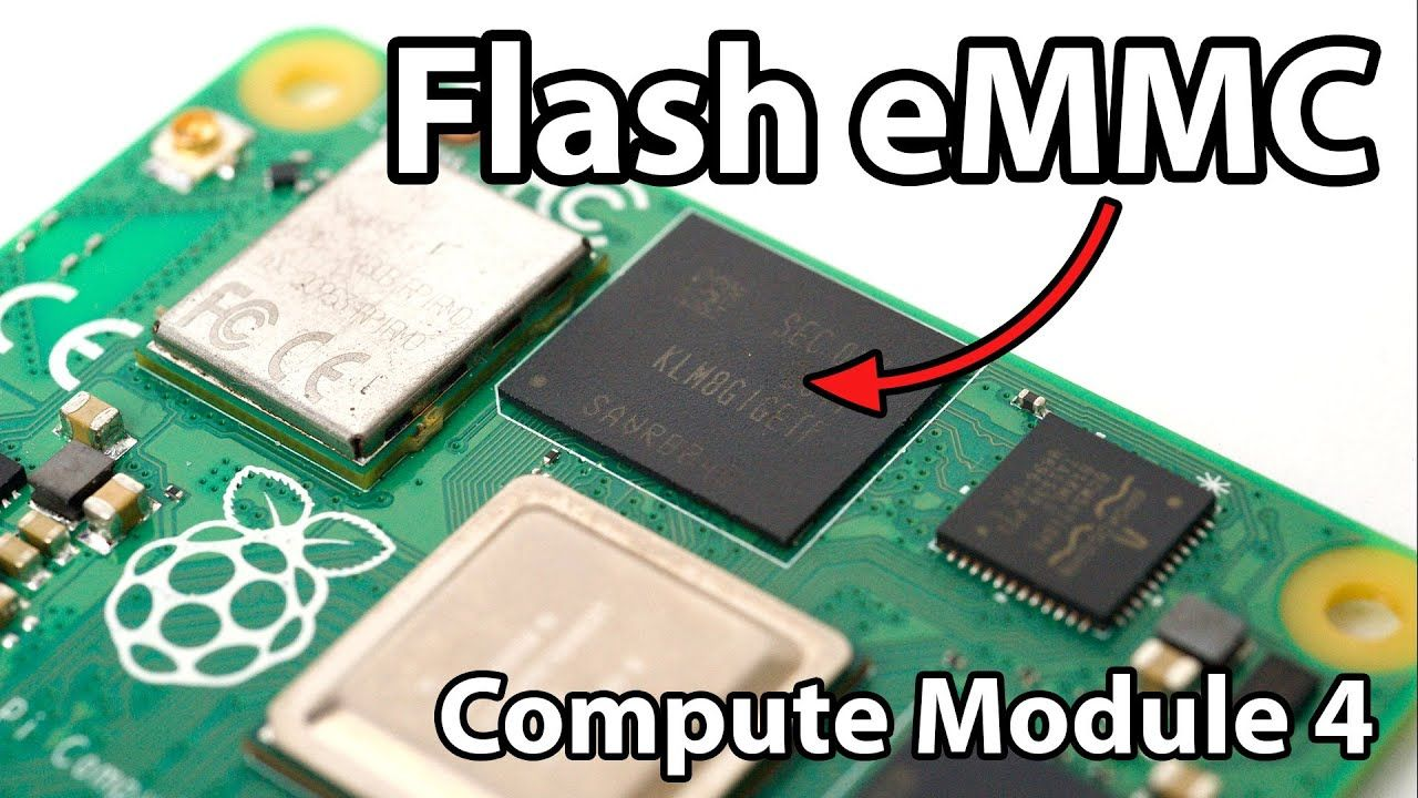 How to flash the eMMC on a Raspberry Pi Compute Module 4