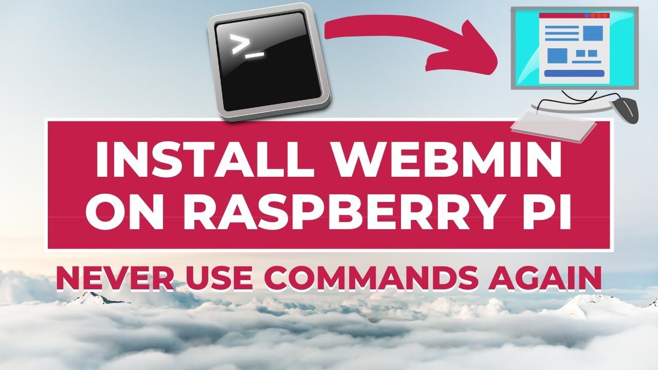 How to install Webmin on Raspberry Pi and stop using command lines!