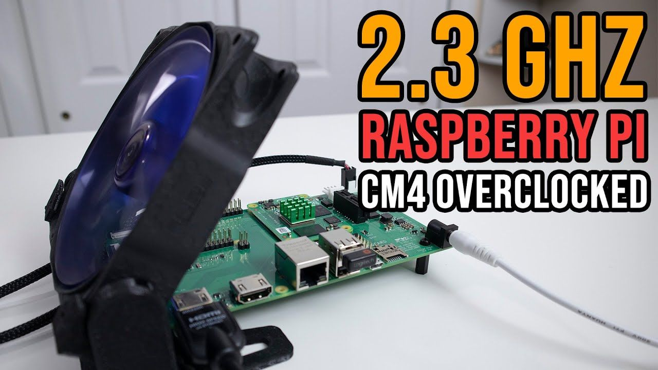 Overclocking Raspberry Pi Compute Module 4 to 2.3 Ghz stable!!