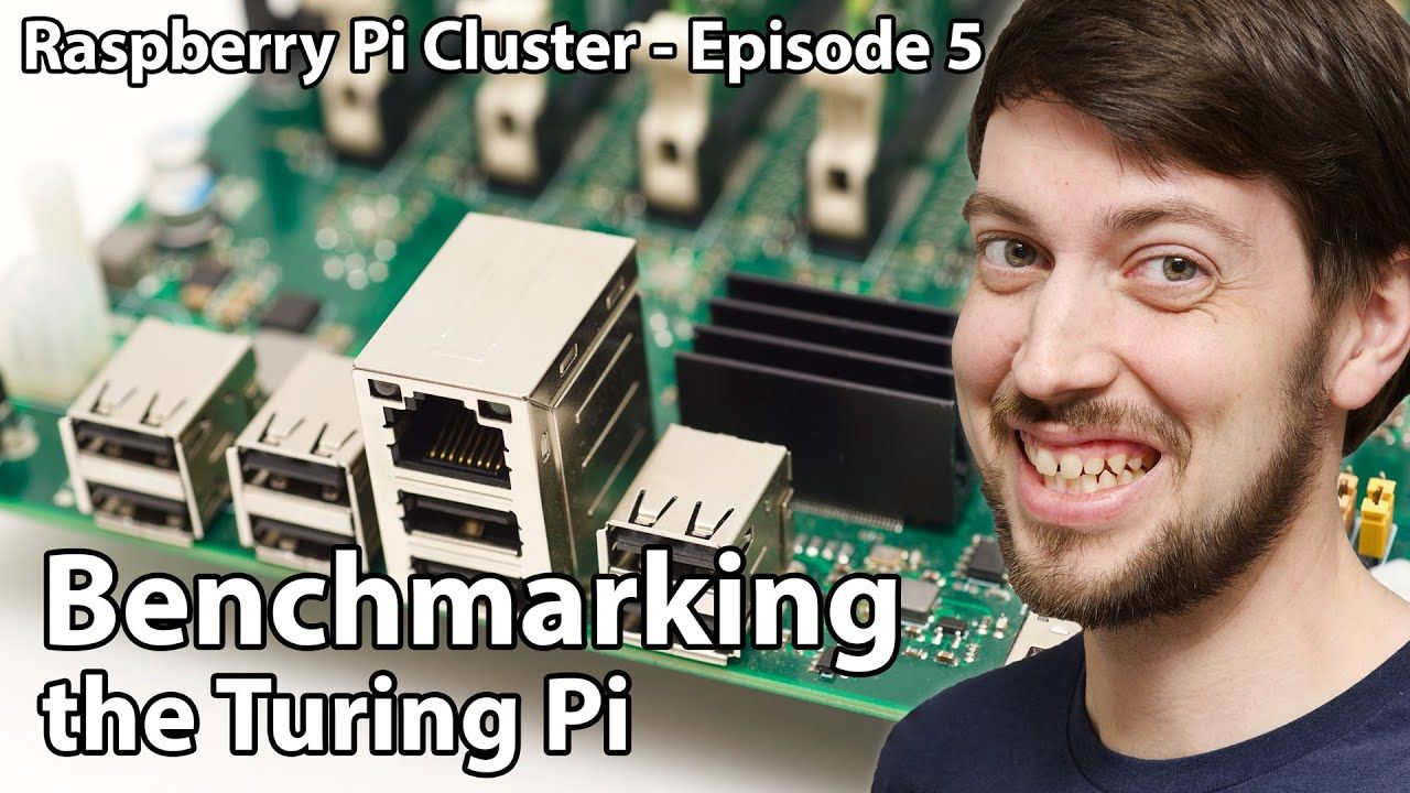 Raspberry Pi Cluster Ep 5 – Benchmarking the Turing Pi