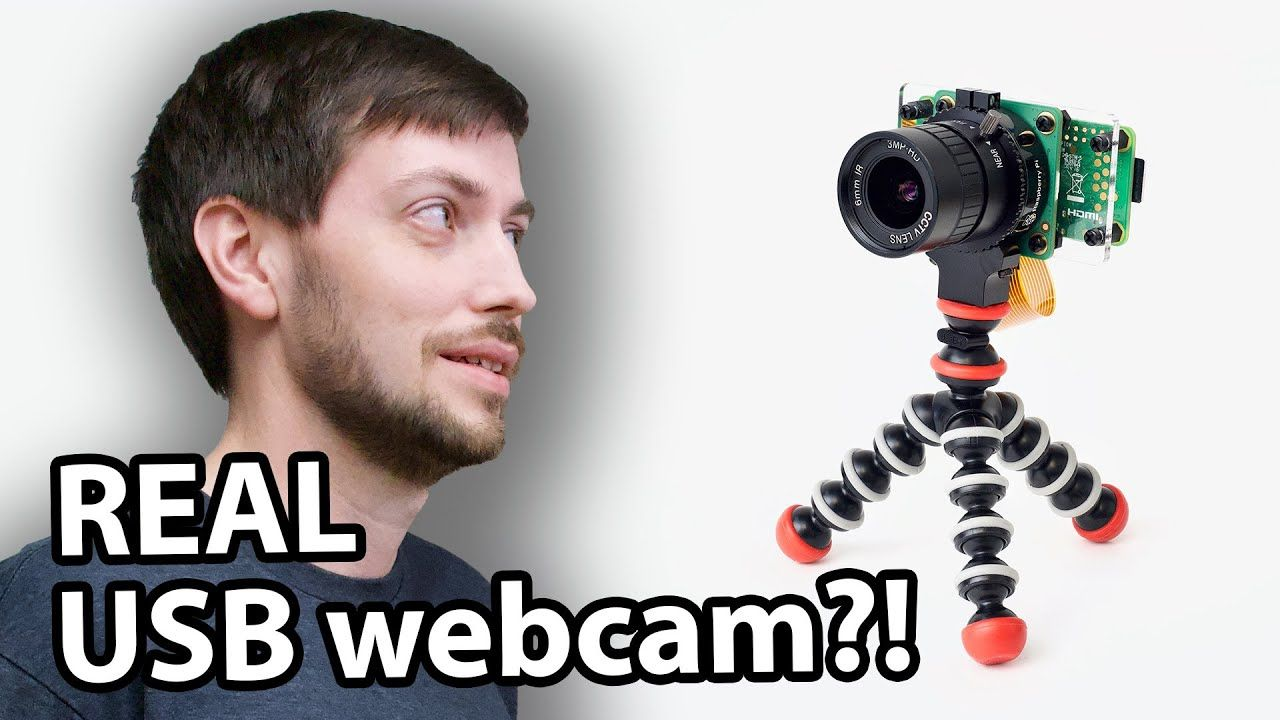 Raspberry Pi Zero is a PRO HQ webcam for less than $100!