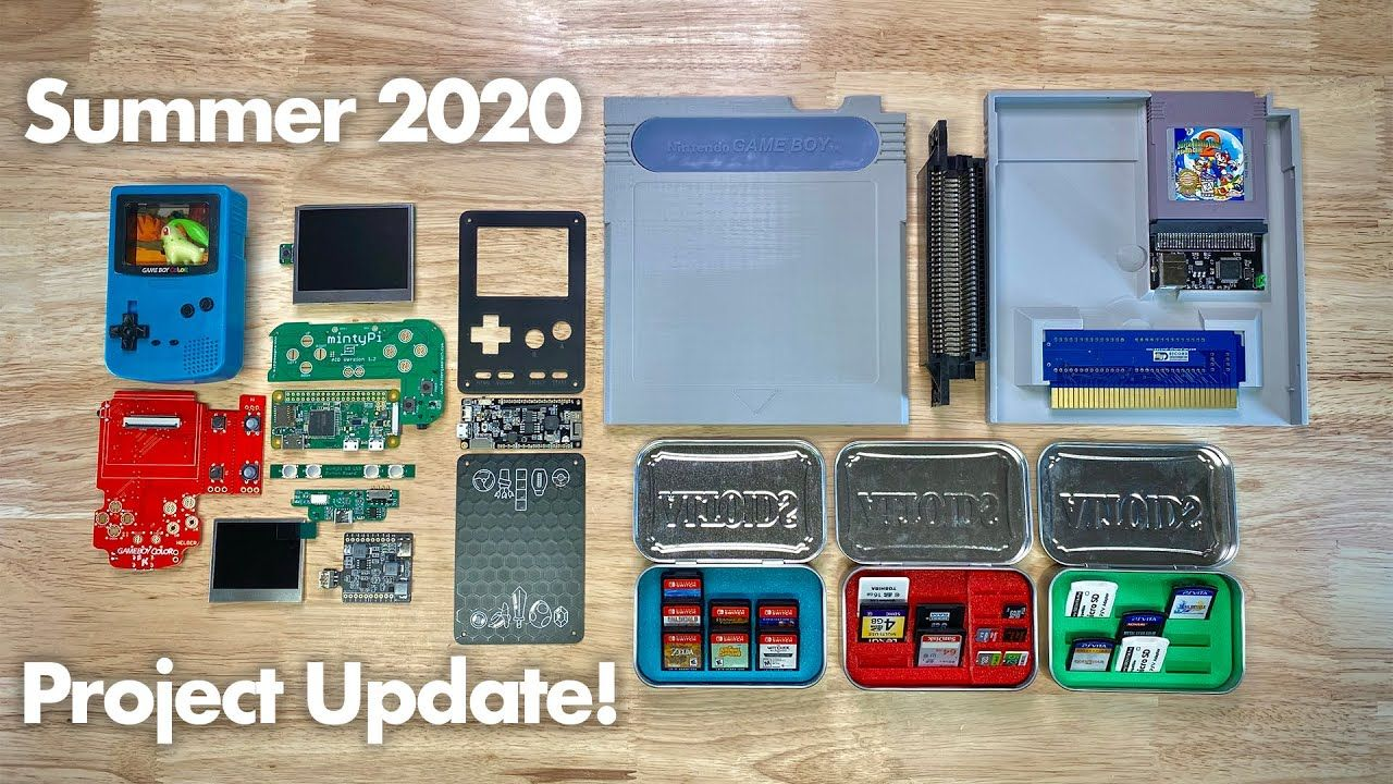 Summer 2020 Update: mintyPi v3.5, Espresso, Giant Game boy and more!