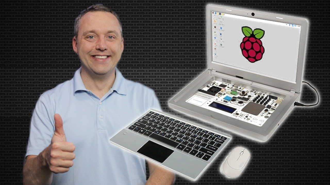 The Best Raspberry Pi Laptop Kit | CrowPi 2 Review