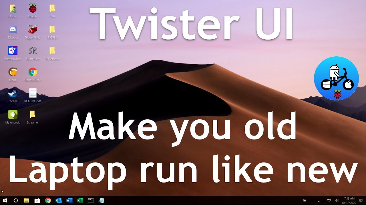 Twister UI. How to install on your Laptop or PC. Linux XFCE 20.10.