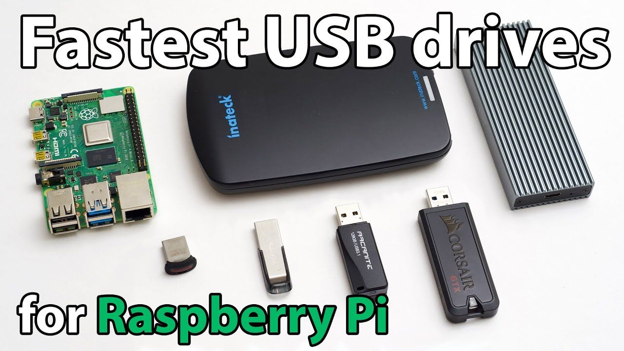 What's the fastest USB drive for a Raspberry Pi?