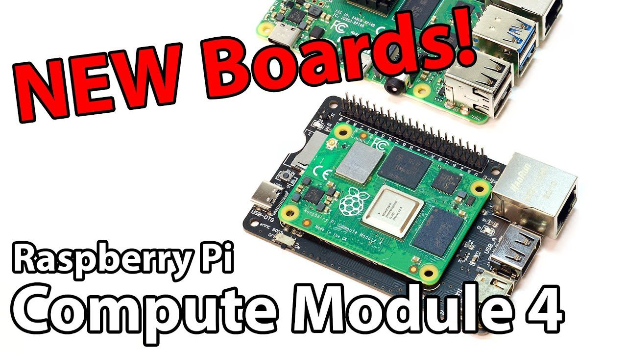 10 Exciting Raspberry Pi Compute Module 4 Boards