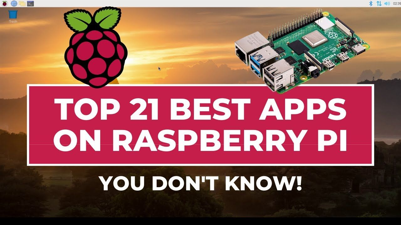 21 Awesome Apps on Raspberry Pi OS That You Might Not Know!