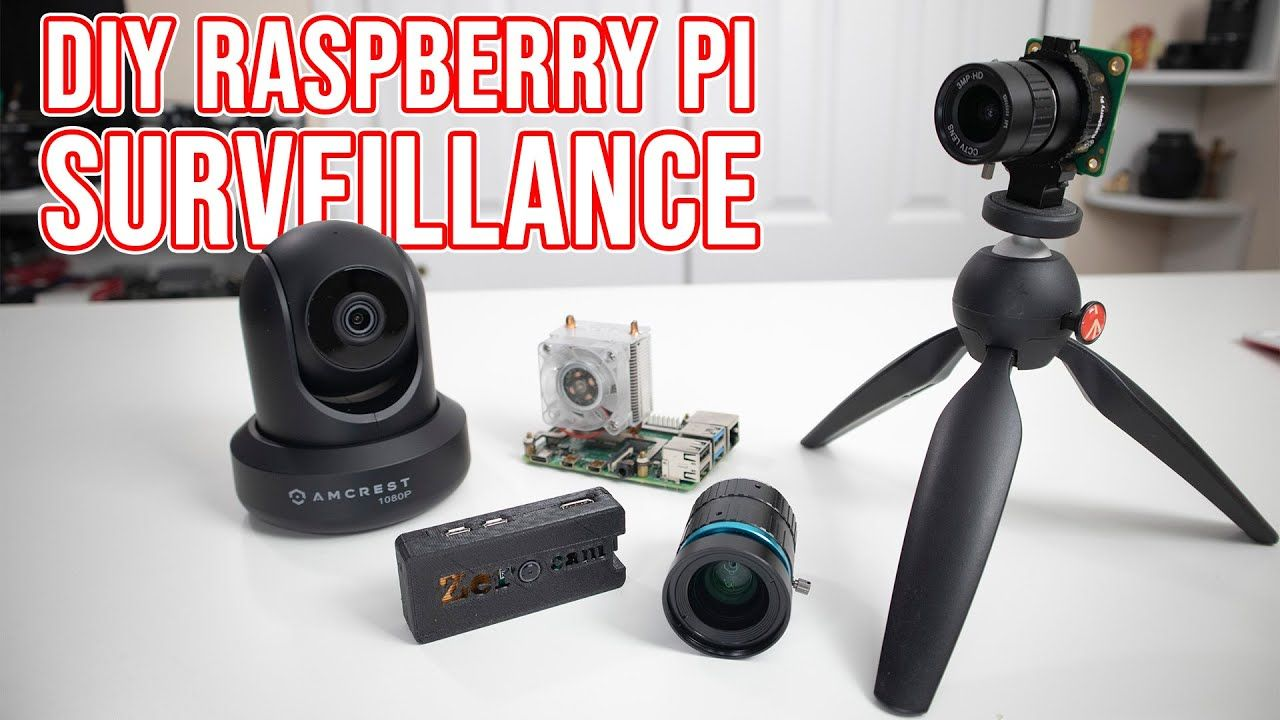 DIY Raspberry PI Surveillance System with MotionEyeOS