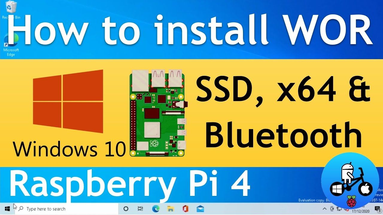 Huge Updates! Windows 10 on Raspberry Pi 4. SSD, Bluetooth and x64 emulation WOR episode 22.