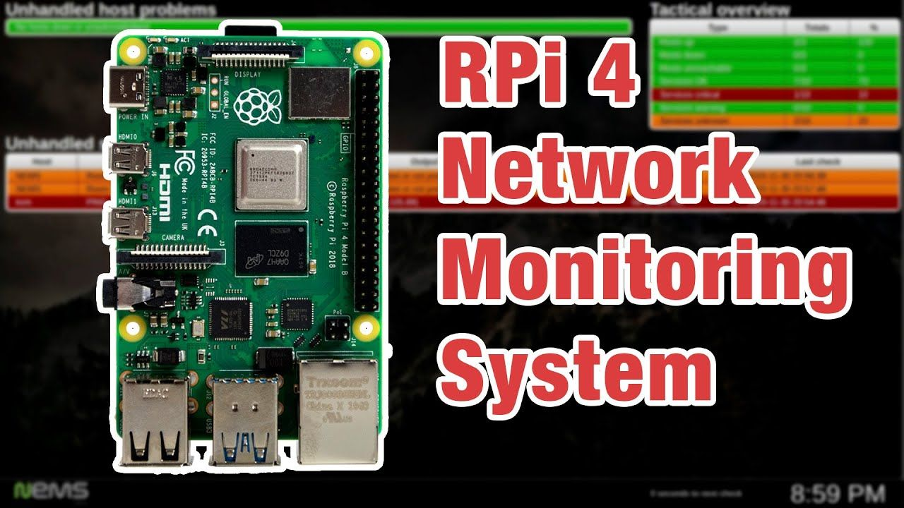 NEMS Linux: Raspberry Pi Network Monitor System