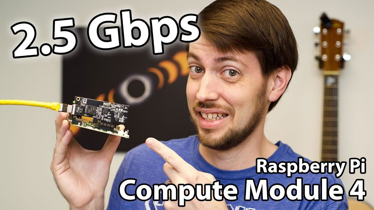 Raspberry Pi CM4 does 2.5 Gigabit Ethernet!