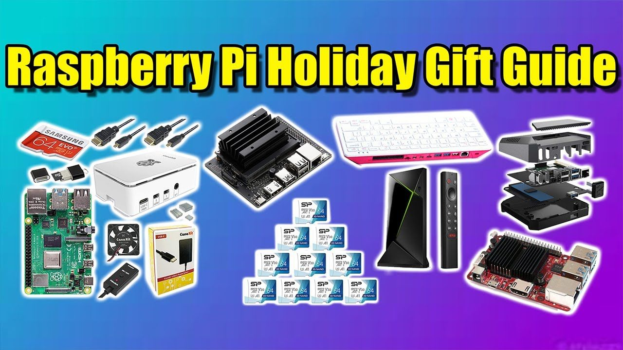 Raspberry Pi Holiday Gift Guide – 12 Gift Ideas!