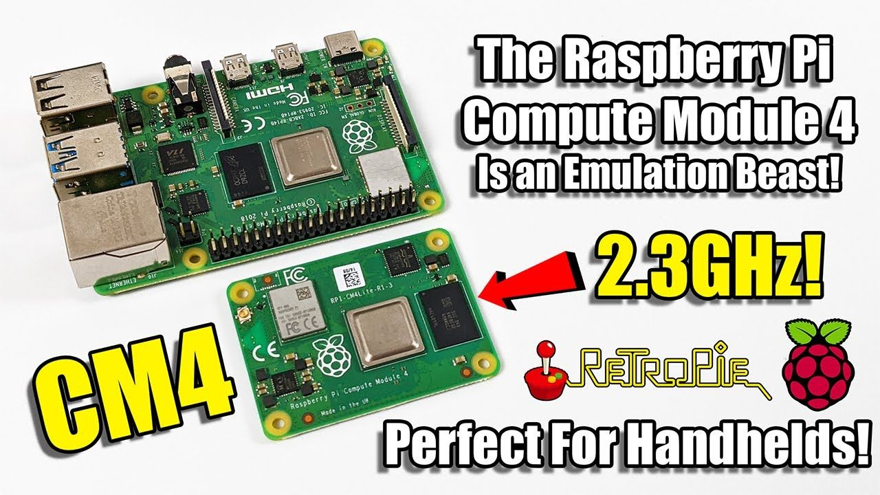 The Compute Module 4 Is an Emulation Beast! Raspberry Pi CM4 Review
