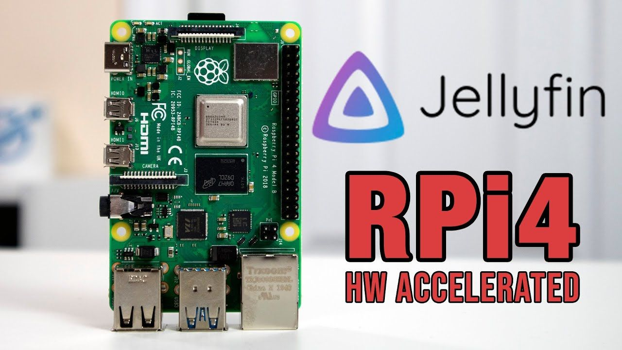 How to Install JellyFin on Raspberry Pi with OMX H/W Acceleration