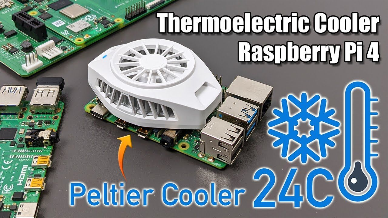 Thermoelectric Cooler On The Raspberry Pi 4! Super Low CPU Temps With Science!