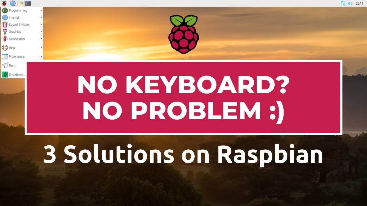 3 Solutions to Enable On-screen Keyboard on Raspberry Pi OS