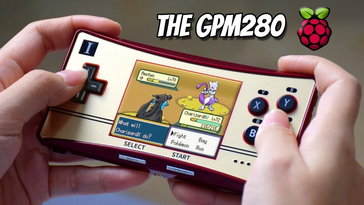 GPM280 Raspberry Pi Handheld Review – This Is Not A GameBoy Micro!