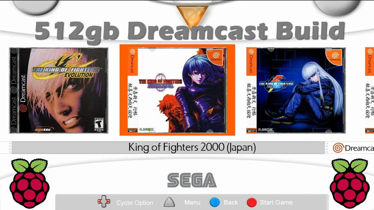 Huge Sega Dreamcast Collection For Your Raspberry Pi