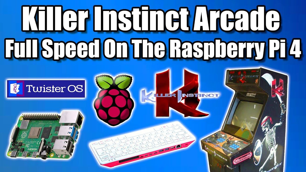 Killer InstinctArcade Full Speed On The Raspberry Pi 4 / Pi 400 – Twister OS
