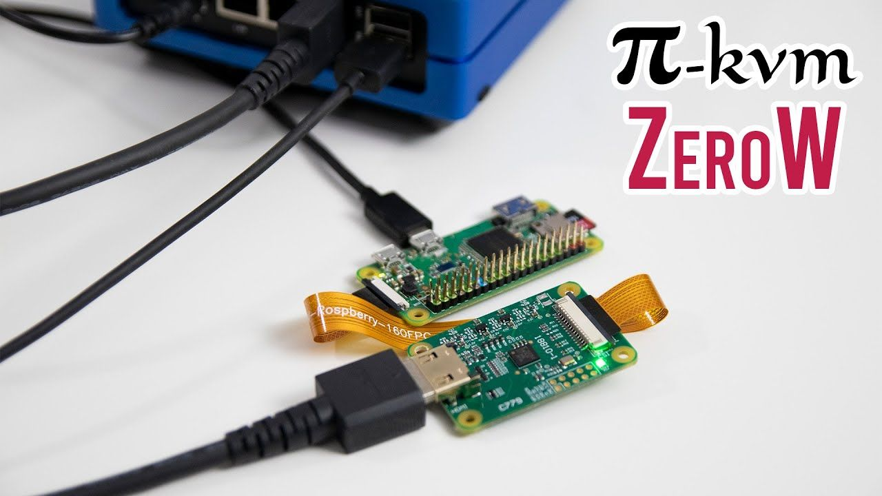 Pi-KVM – Raspberry Pi Zero W Installation and Review