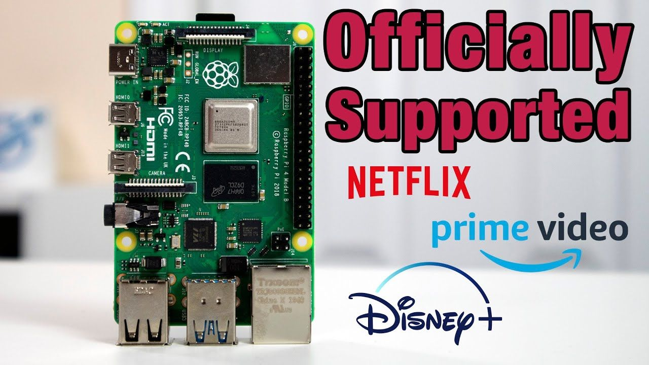 Native RPi 4 Support – How to Stream Netflix, Disney Plus, and more on raspberry pi 4 widevine