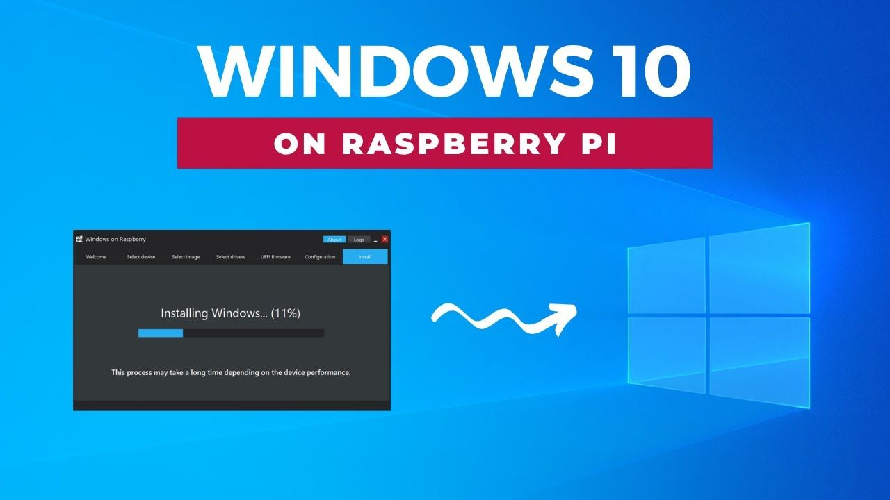 Step-by-step tutorial on how to install Windows 10 on Raspberry Pi