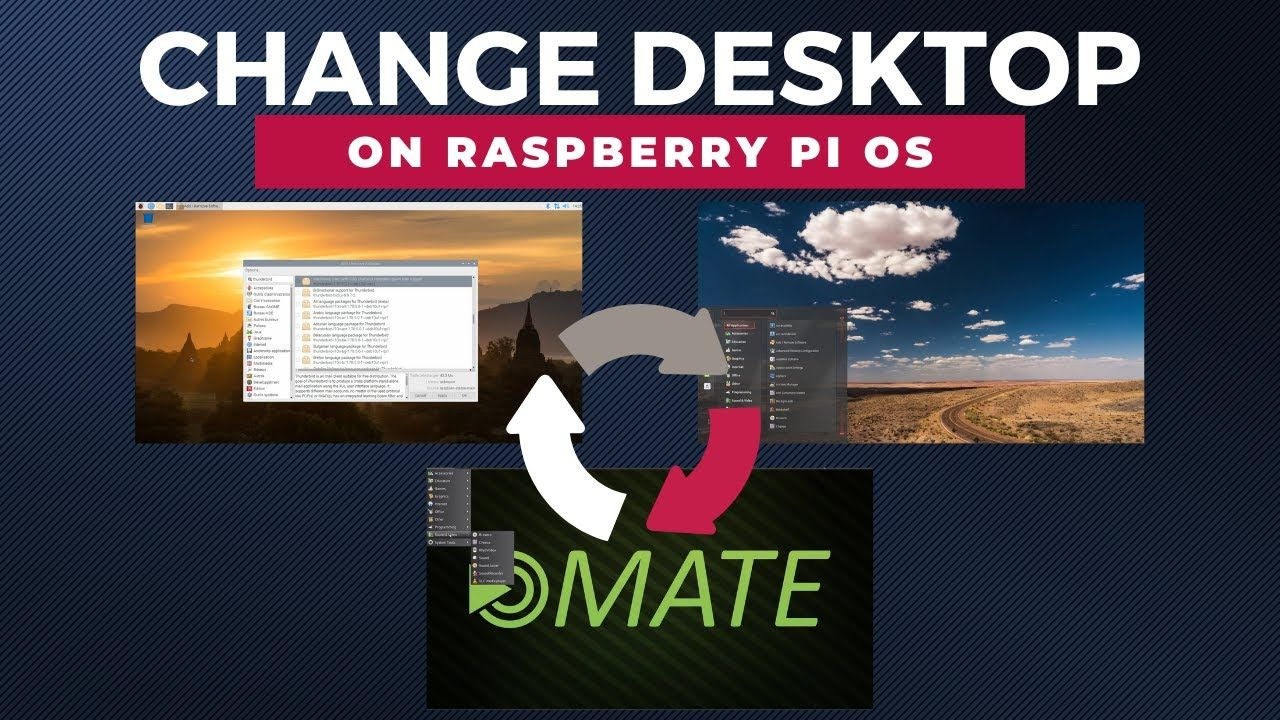 Quick Tip: Change the Desktop Environment on Raspberry Pi OS