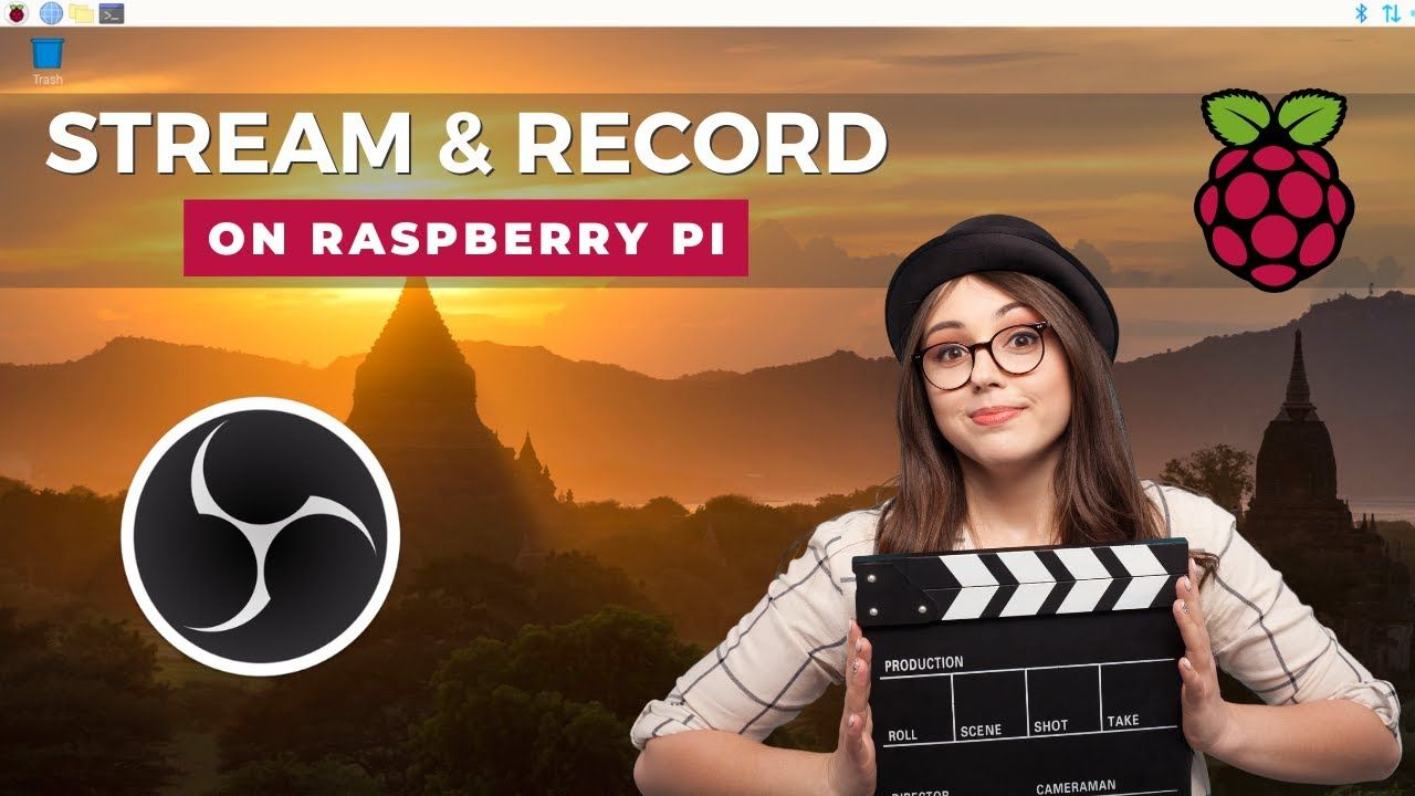 Install OBS Studio on Raspberry Pi – Screen capture, recording and streaming