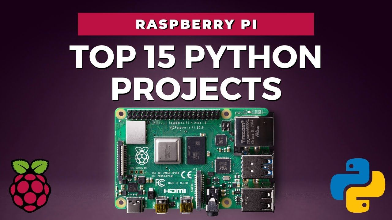 15 Python Projects Ideas on Raspberry Pi in 5 minutes