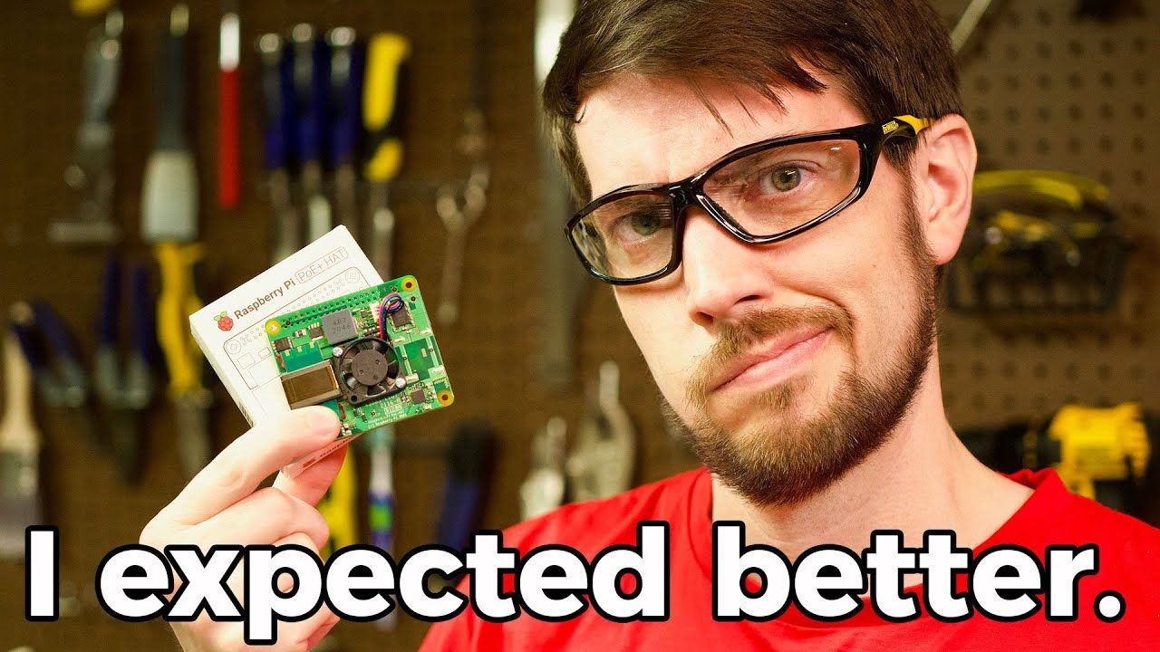 Raspberry Pi's new PoE+ HAT uses too much power!