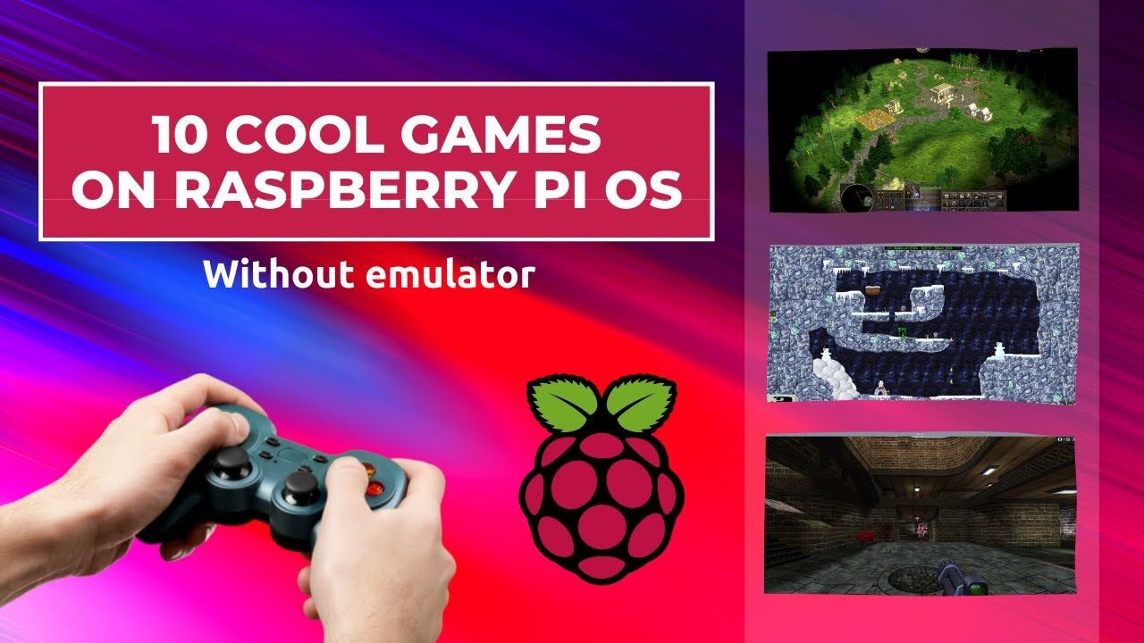 10 Cool Games to Play on Raspberry Pi OS (Without Emulator)