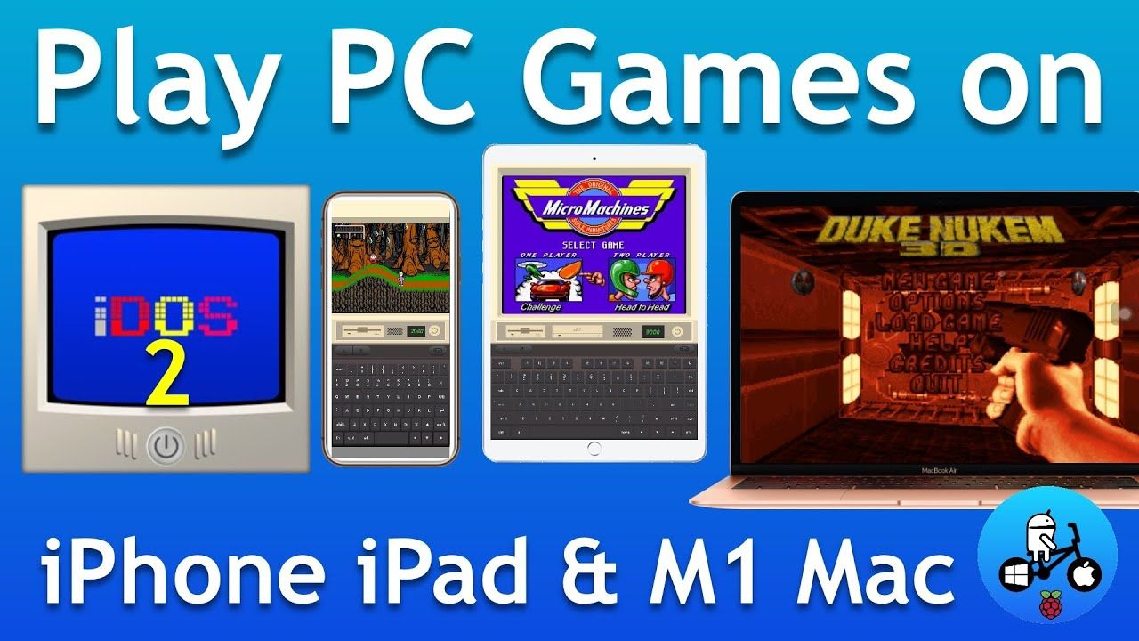 How to Play PC games on iPhone,iPad and M1 Macs with iDos 2.