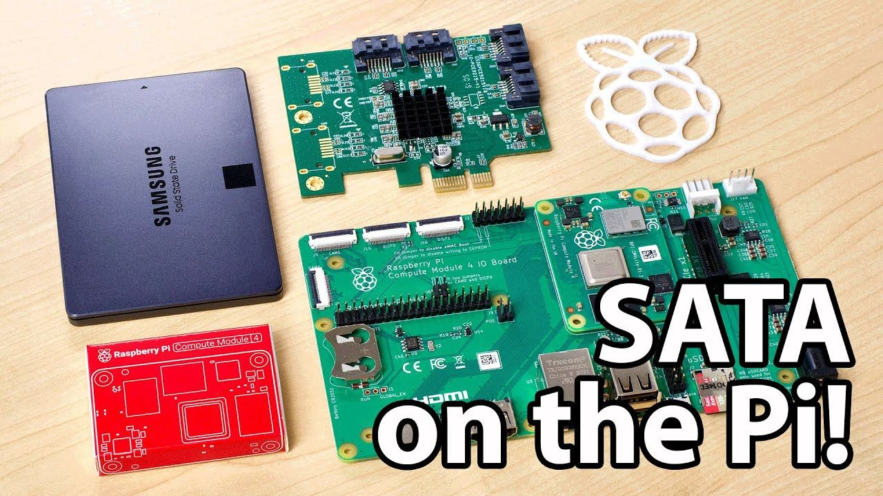 SATA support is now built into Raspberry Pi OS!