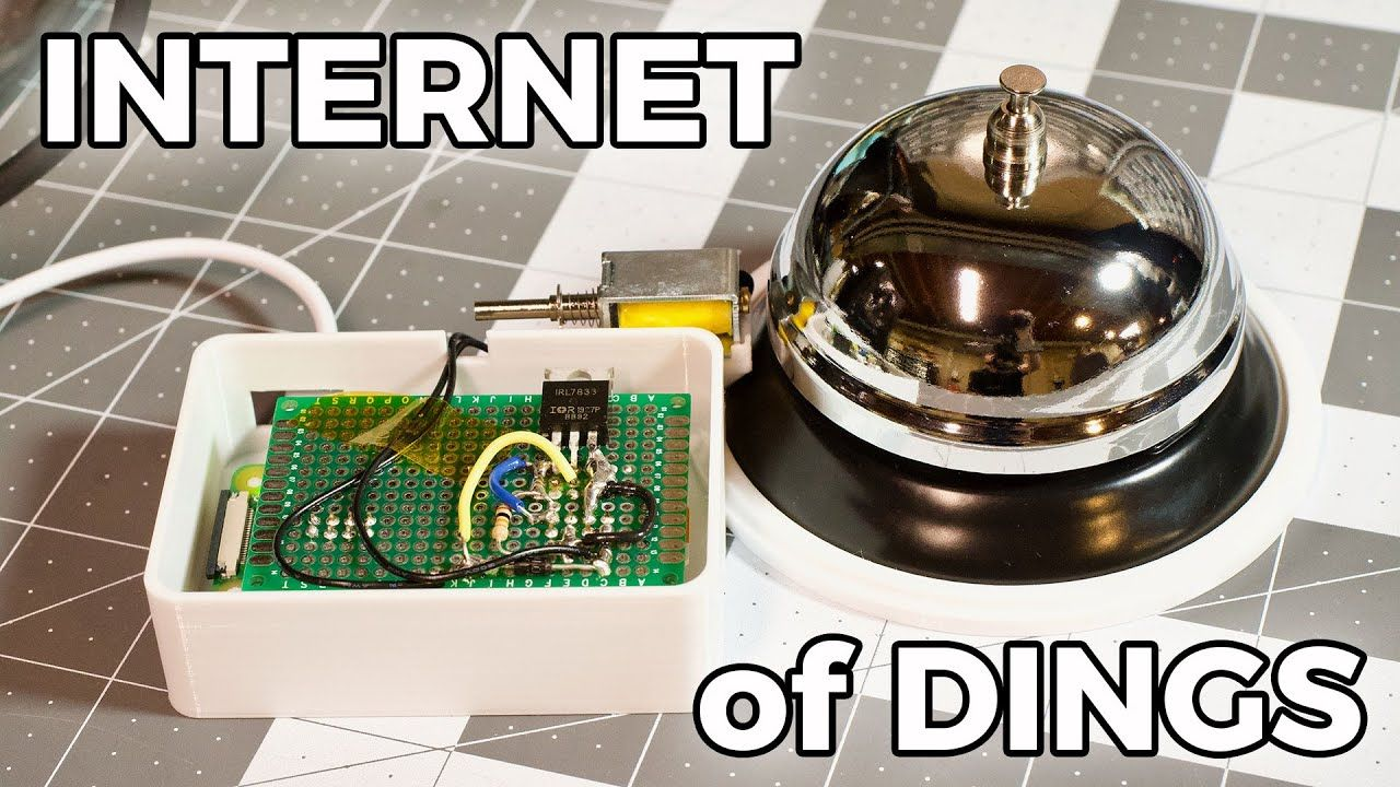 The Raspberry Pi IoT Notification Bell