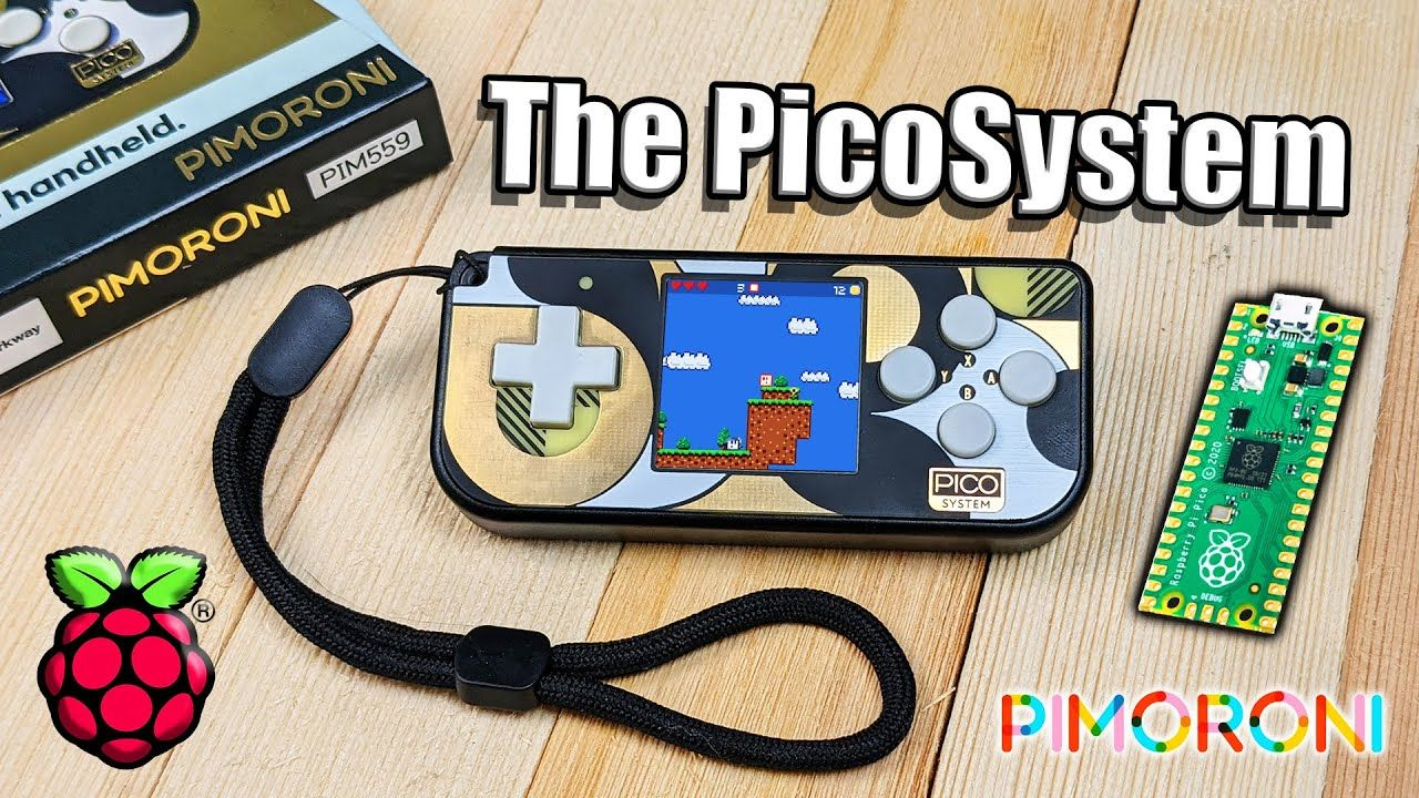 A New Handheld Powered By The Same Raspberry Pi Pico Chip!