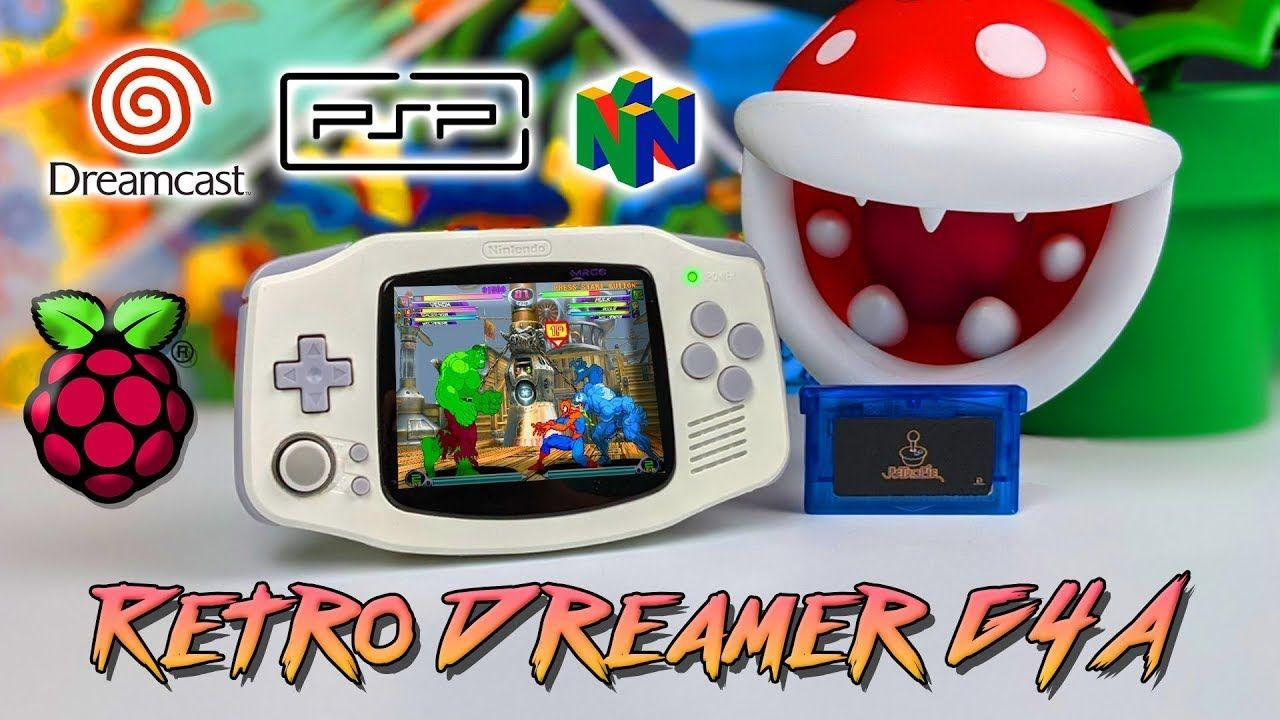 Retro Dreamer G4A First Look The Ultimate Raspberry Pi CM4 GBA!  👍