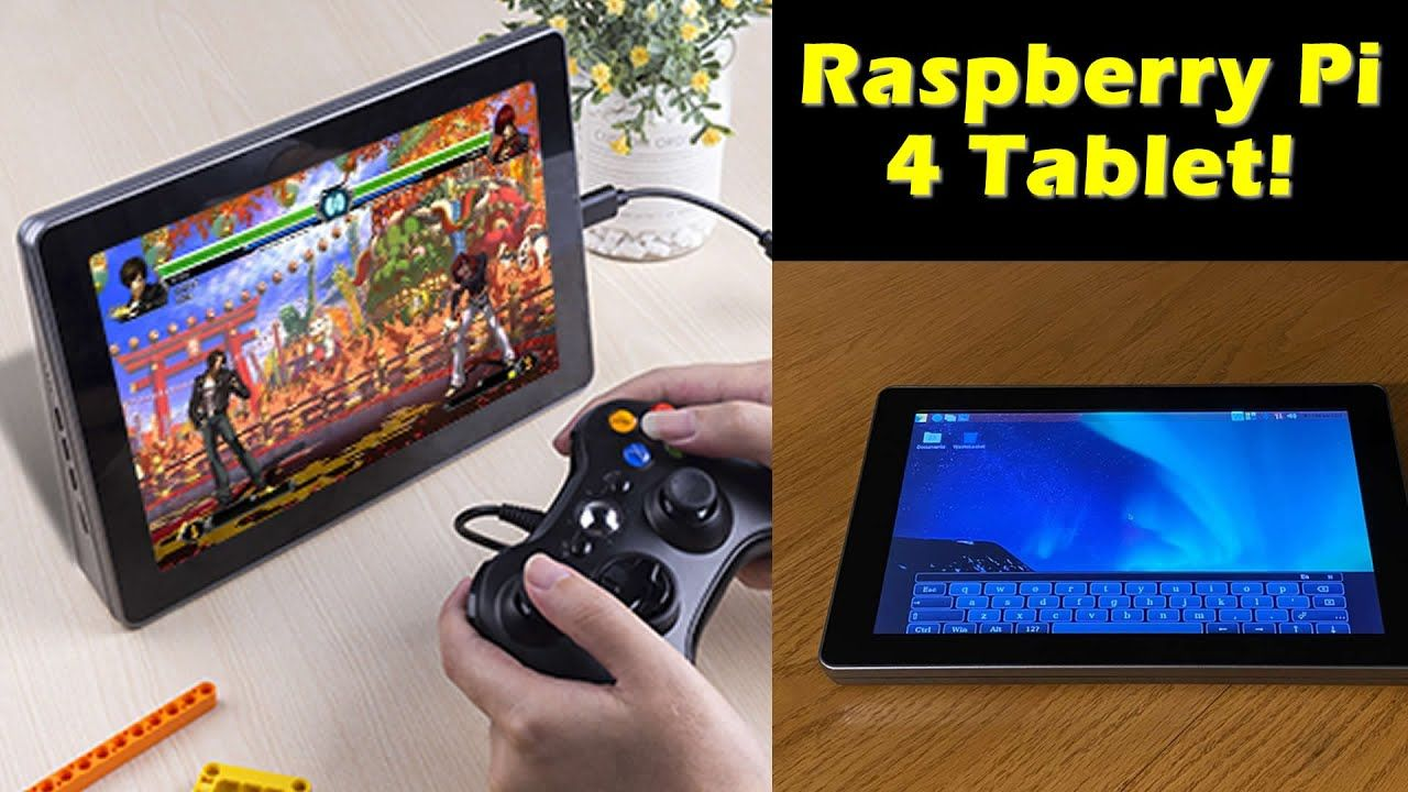 Turn Your Raspberry Pi 4 Into A 10″ Tablet – Yes, it Games – Raspad 3